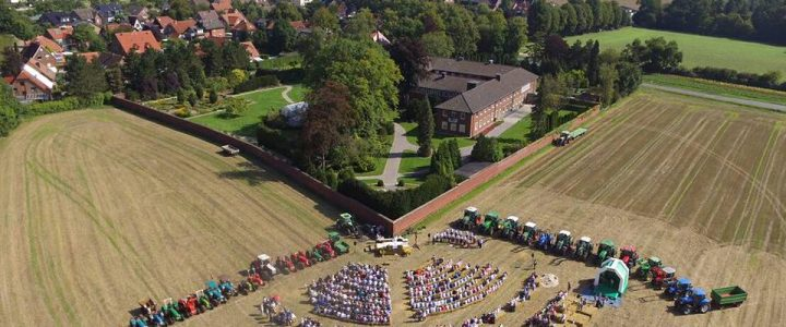 Stoppelmesse am Kloster