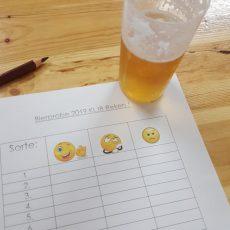 Bierprobe in Reken