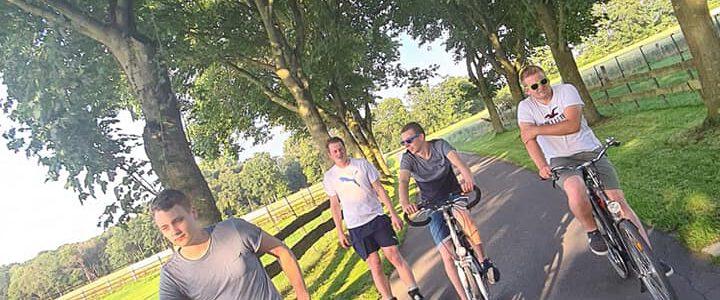 Inliner- und Radtour